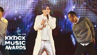 bii 畢書盡 第 11 屆 kkbox 風雲榜 年度風雲歌手 完整精彩演出
