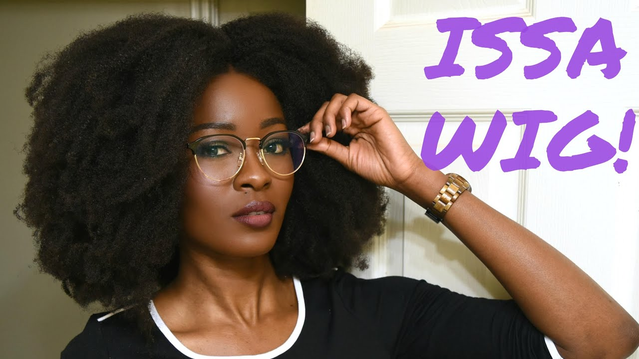 The Best Natural Hair Wig It Has Been Dethroned Check The Description Youtube