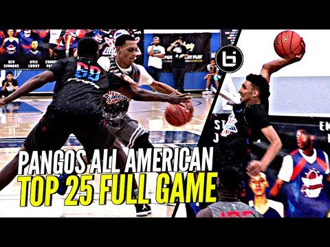 Cole Anthony Gets Jelly 🍇🍇 & Charles Bassey Gets MVP! Pangos AA Top 25 Full Broadcast!
