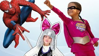 Как Супер Эмили спасла Лол и Человека Паука