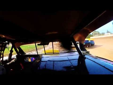 9-12-15 Plymouth Dirt Track Grand National Heat In-Car