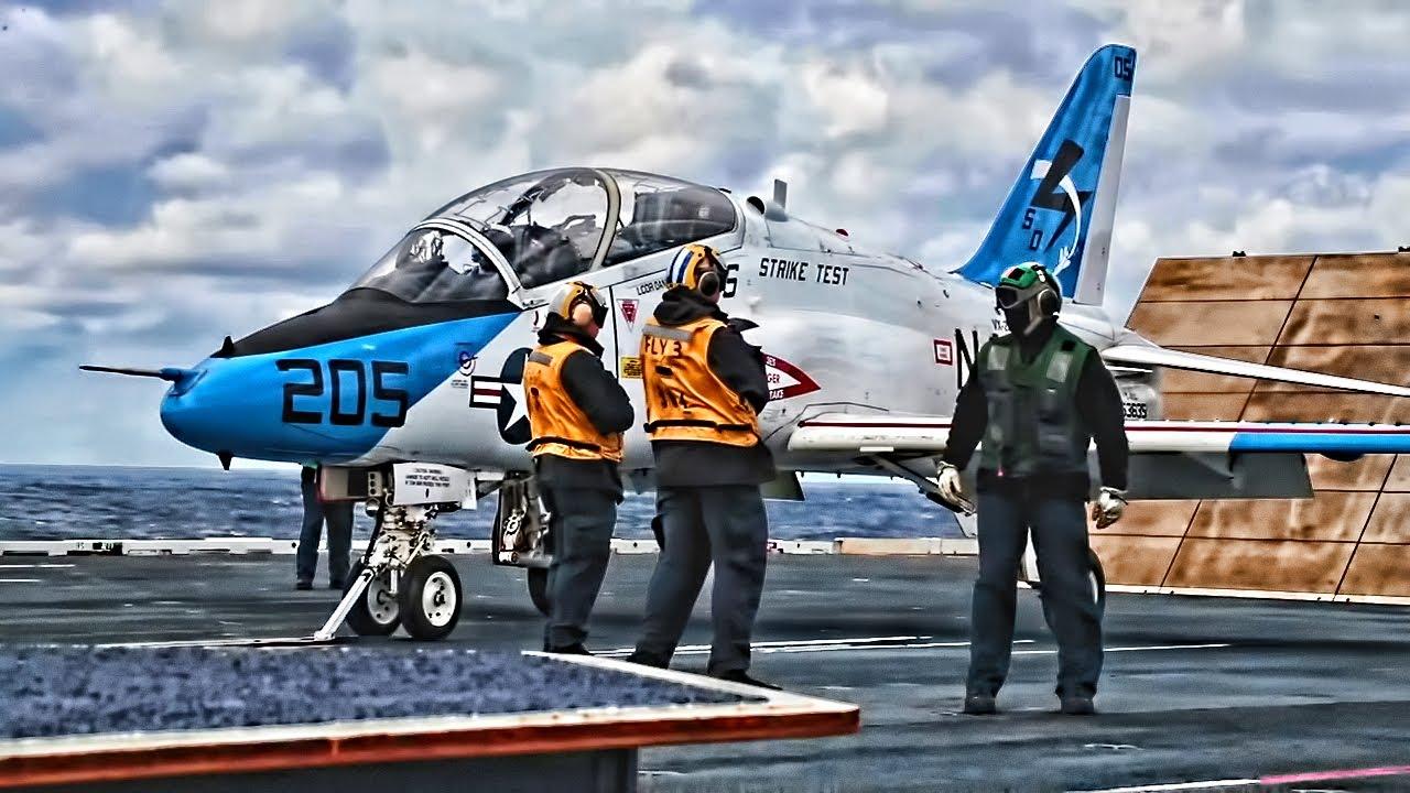 US Navy – Flight Ops USS Gerald R Ford CVN 78 – Jan 18 2020