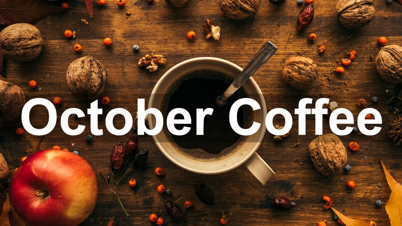 October Coffee Jazz - Relax Autumn Jazz Cafe Piano and Sax Music for Warm Mood
