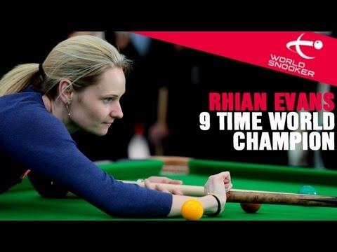 9 time ladies snooker champion, Reanne Evans talks about Lad