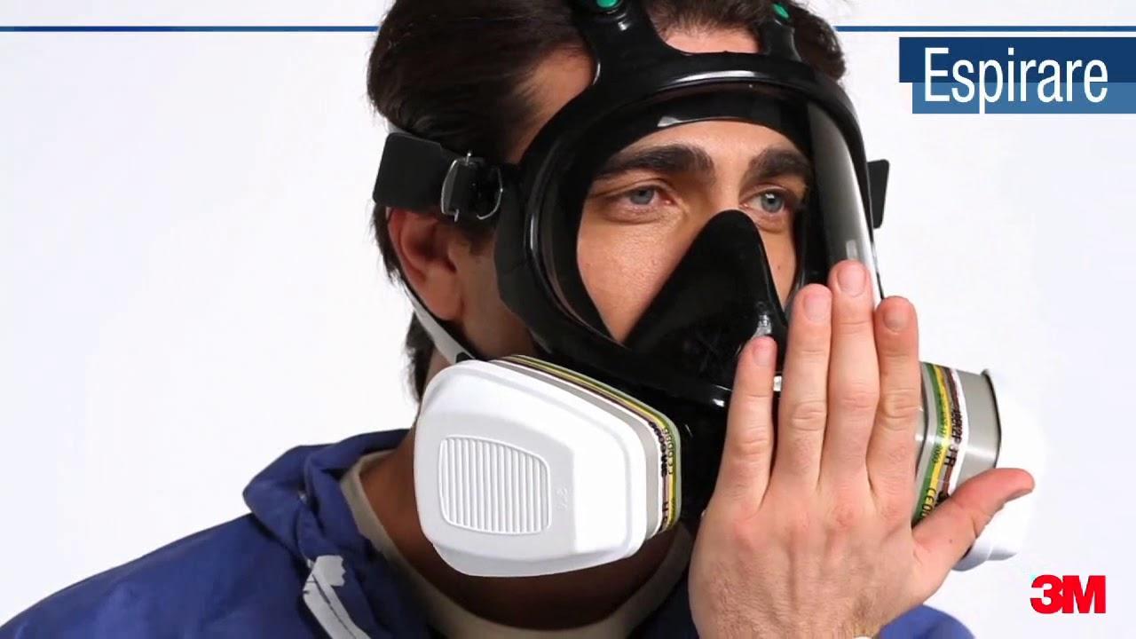 maschera pieno facciale 3m