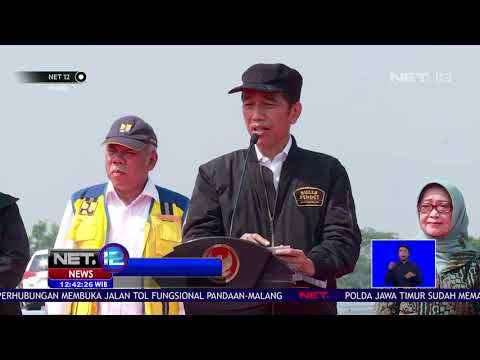 Presiden Jokowi Resmikan Tol Transjawa, Jalan Tol Bisa Dilalui gratis Hingga Januari 2019 - NET12