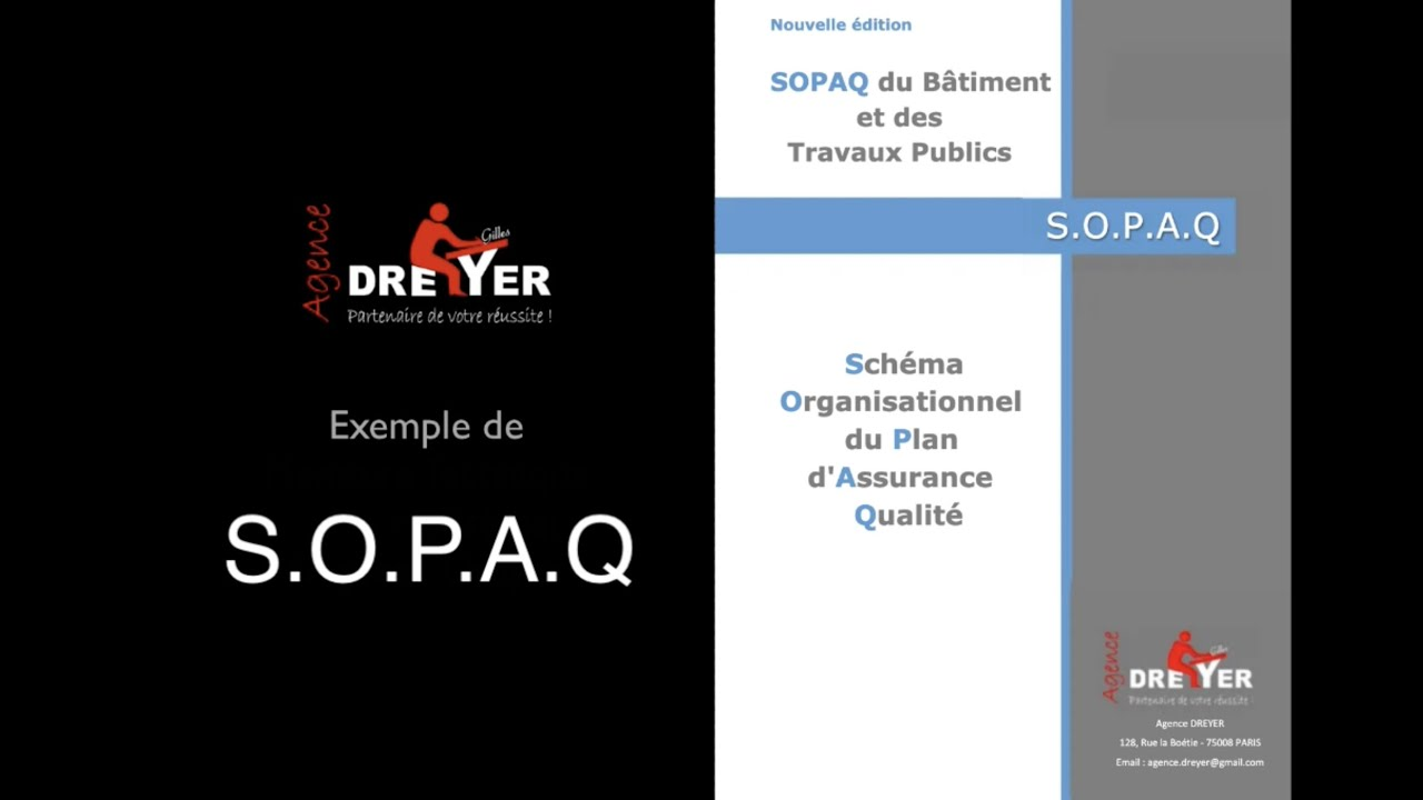 Exemple de SOPAQ - SOPAQ du BTP Schéma Organisationnel du ...