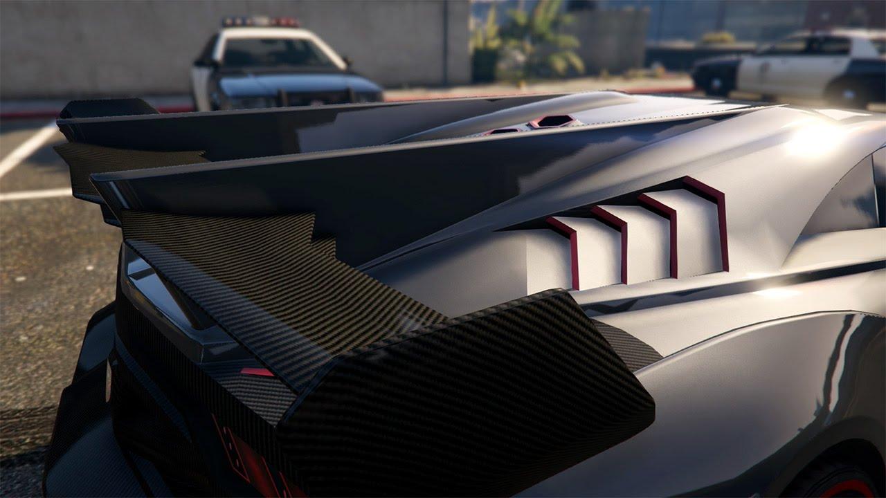 Gta 5 Custom Car Build Pegassi Zentorno Lamborghini Veneno Next Gen Xbox One Youtube