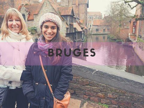 Bruges Travel Vlog & Happy Birthday Mum!   THE HOSTEL GIRL