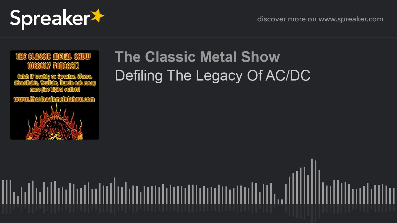Defiling The Legacy Of AC DC