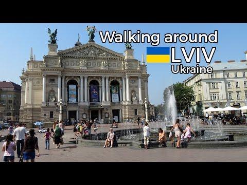 Walking around Lviv,