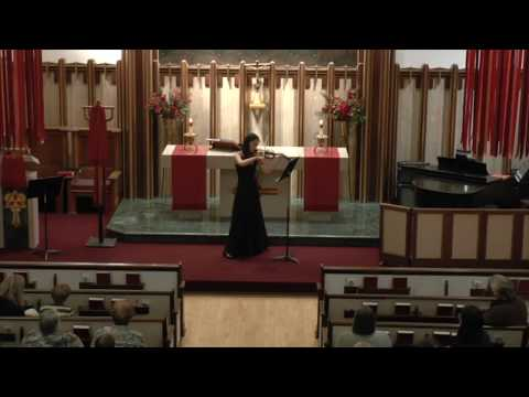 Margaret Knox Senior Violin Recital, Part I