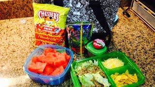 Taco Salad For School Lunch By Sumaiya