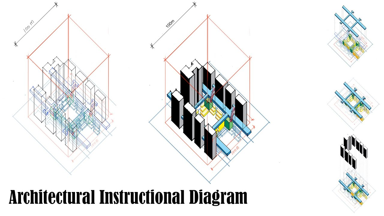 Making an architectural instructional diagram youtube pooptronica Images