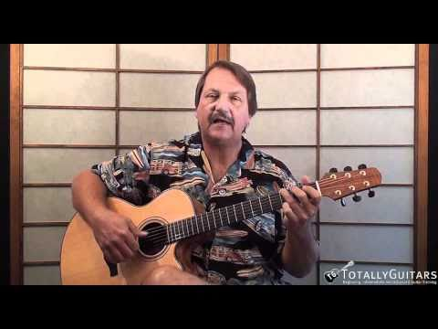A Pirate Looks At 40 Acoustic Guitar Lesson - Jimmy Buffett