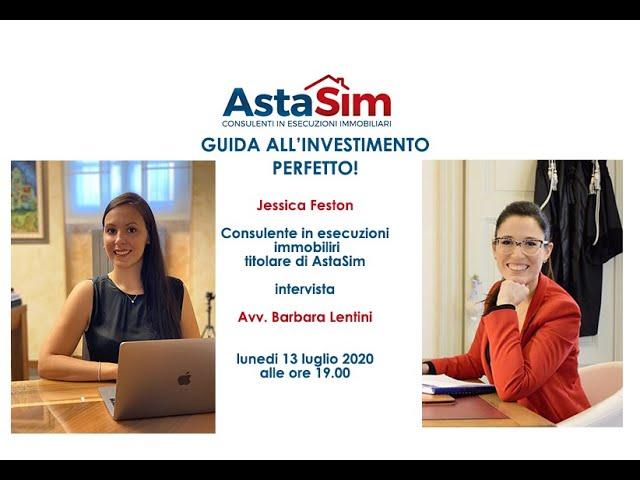 Novità 2020 sulle aste immobiliari - Guida all'investimento perfetto  Ospite l' Avv. Barbara Lentini