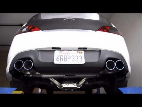 ARK Performance Hyundai Genesis 3.8L Dyno ARK DT S 3 Exhaust System at FSR Motorsport