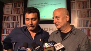 NEERAJ PANDEY DEBUT NOVEL GHALIB DANGER LAUNCH BY ANUPAM KHER