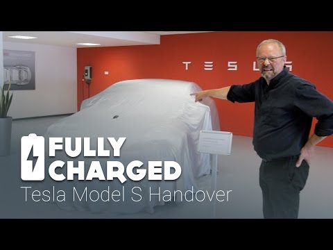 Tesla Model S Handover | Fully Charged