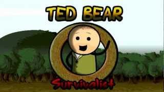Ted Bear Ausgesetzt in der Wildnis German