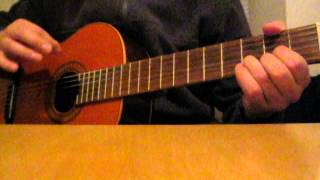"Guitar lesson - ""Brimful of Asha"" by Cornershop"