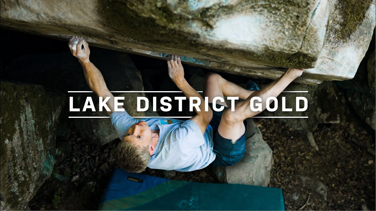 Lake District Gold • A day bouldering in The Lakes