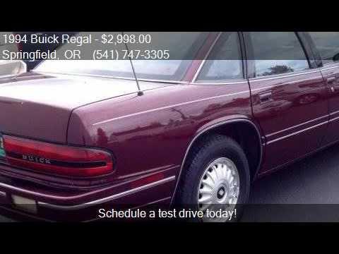 Buick Regal Custom Dr Sedan For Sale In Springfield O YouTube - Buick springfield