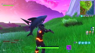 *NEW* CHOMP JR. FORTNITE PICKAXE SOUND EFFECTS AND GAMEPLAY! @LYCANPHILLY