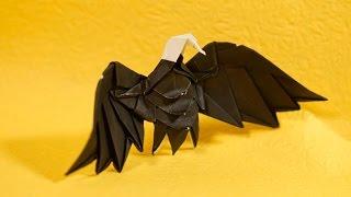 Origami Eagle - Intermediate Version (Re-edit tutorial) (Henry Phạm)