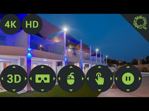 3D Hotel Blue Harbour Boutique Apartments. Cyprus, Ayia Napa - Project 360Q
