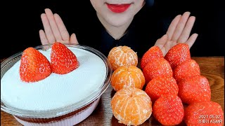 ASMR Strawberry, tangerine, st…
