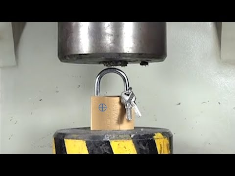 Big Iron Block Challenges Hydraulic Press Ultimate Pressure