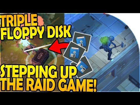 TRIPLE FLOPPY DISK - STEPPING UP our RAID GAME - Last Day On Earth Survival 1.7.10 Update