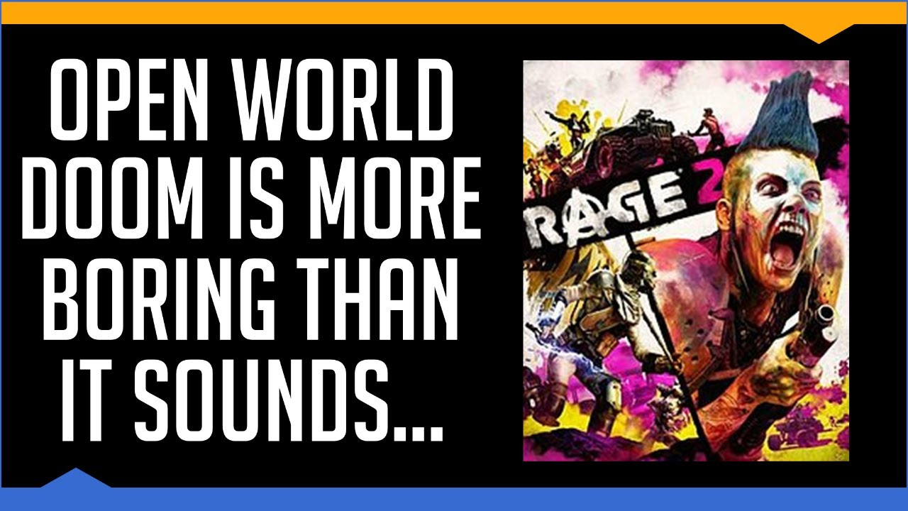 Rage 2 - A Brief Review (2019) thumbnail