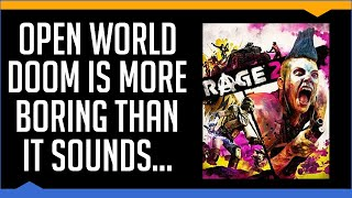 Rage 2 - A Brief Review (2019) (Video Game Video Review)