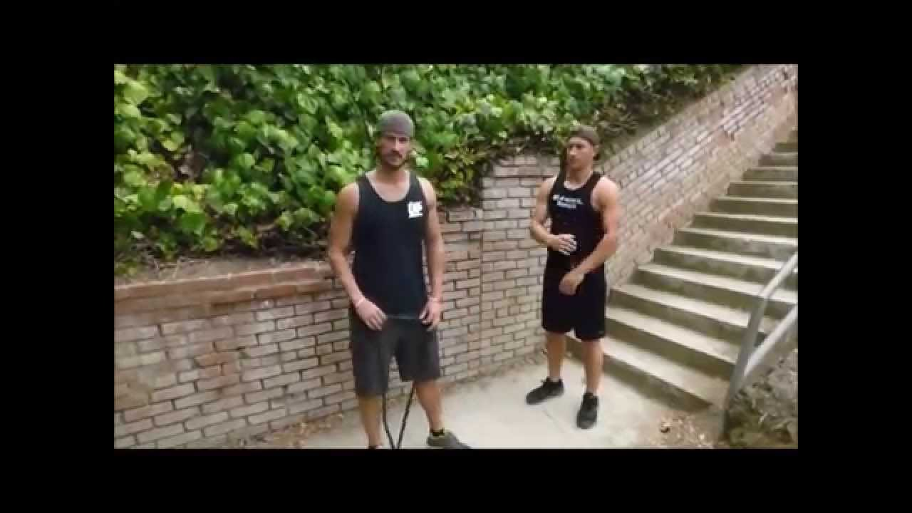 Show Up Fitness Running The Santa Monica Stairs Youtube