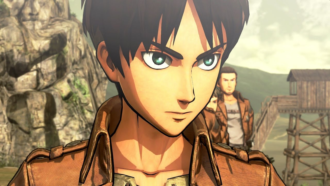 Attack on Titan (PS4): Story Mode | Walkthrough Part 1 (進撃 ...
