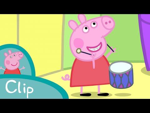 Peppa Pig Français   Les instruments de musique