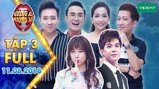 Giọng Ải Giọng Ai Mùa 3 - Tập 3 (Bản Full HD)