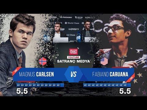 FİNAL - Dünya Şampiyonluğu Maçı | Carlsen - Caruana 12. Oyun