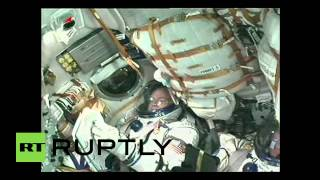 Kazakhstan: Soyuz TMA-16M spacecraft launches for historic one-year mission to ISS