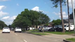 Houston West Bellfort Avenue'dan geçerken (Driving thru Houston West Bellfort Ave)