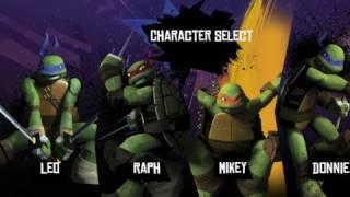 Мультик игра Черепашки ниндзя против мышеловов (Ninja Turtles Mouser Mayhem)