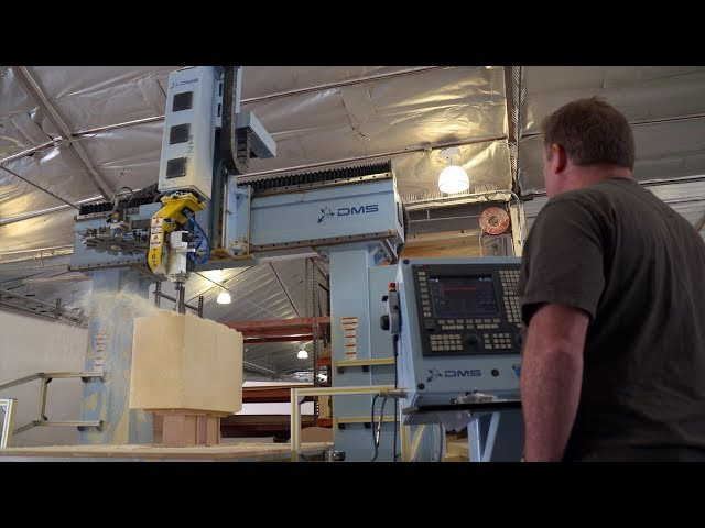 Autodesk PowerMill drives large scale sculpture machining at California Arts