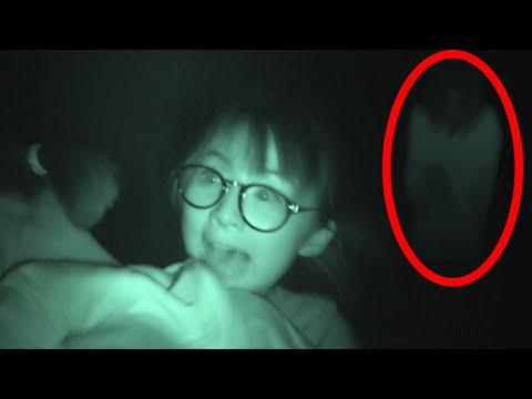 【ドッキリ】心霊スポットで本物の幽霊が出るドッキリやったらヤバイことになった!女子高校生モデルの肝試し大会!【1泊2日のお泊まり女子会#4】