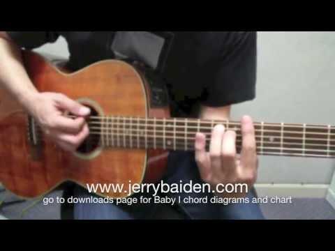 Baby I Guitar Chords - Ariana Grande - Khmer Chords