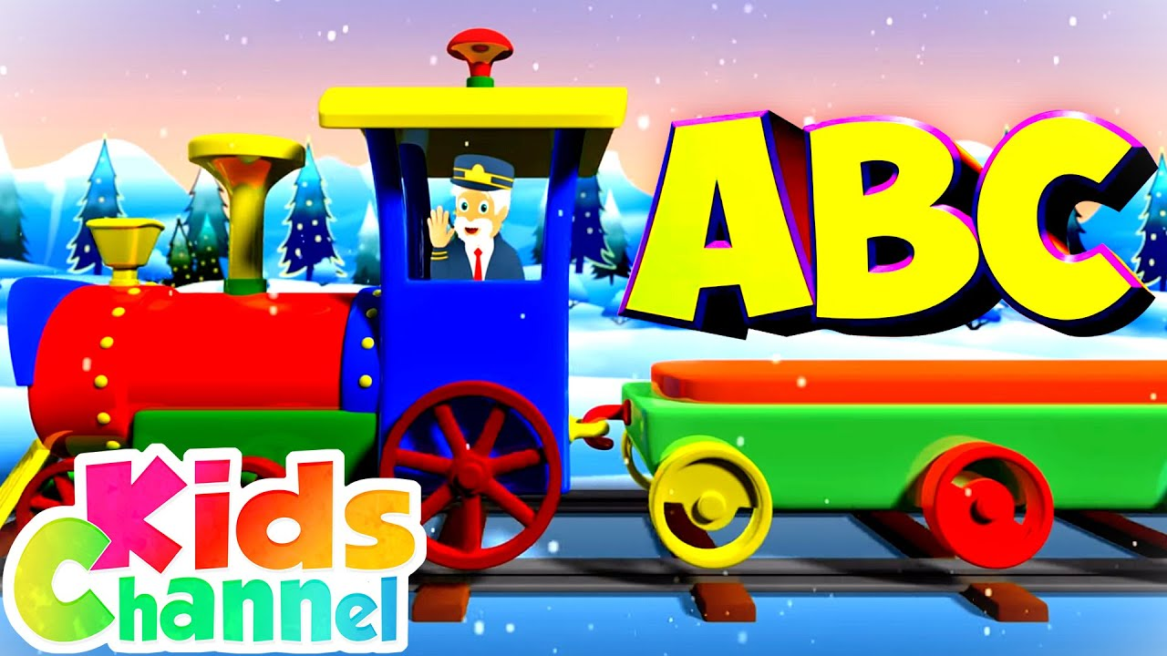ABC Train Song | Learning Videos for Children | Cartoon Videos from Kids Channel