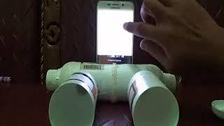 Pengeras Suara atau Speaker untuk Ponsel dari Botol Bekas