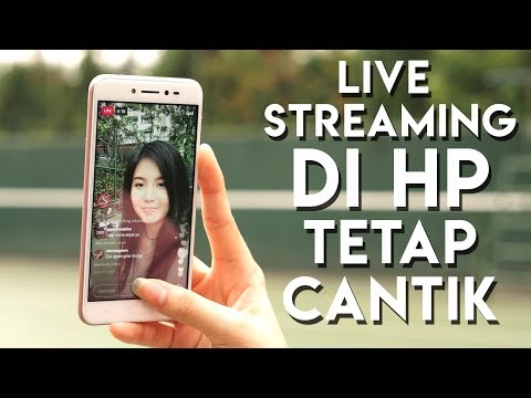 Memperhalus wajah saat live streaming tanpa photoshop ft. Lawrence Anzela & Asus Zenfone Live