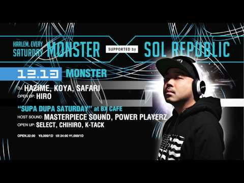 """HARLEM """"MONSTER supported by SOL REPUBLIC"""""""